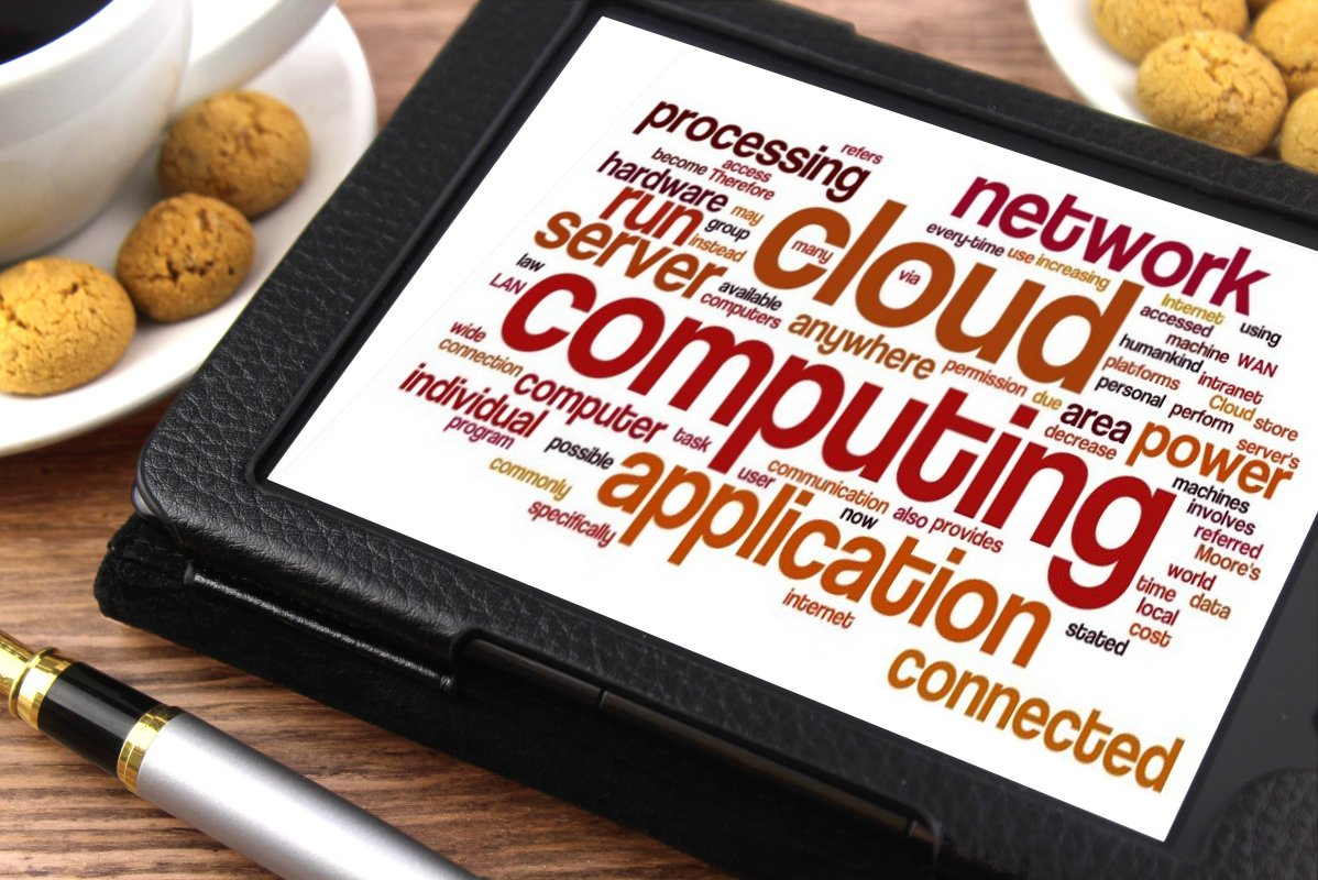 cloud commputing applications on tablet